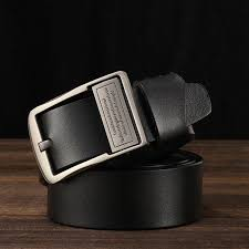 men s leather belt men s belt fashion casual leather jeans with pure leather belt 120cm