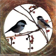 chickadees art2 refraxions laser cut metal wall art nature inspired birds on nature inspired metal wall art with collections etc windy tree metal wall art furnace vent covers wall