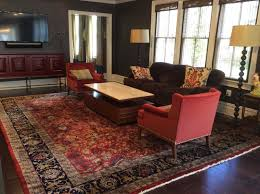 the rug selected from brandon is an exceptional antique reion persian kashan design rug made in india according to super amritsar contract