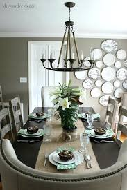 dining table chandelier height chandelier over