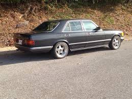 How much tire can you stuff in a w126? - Mercedes-Benz Forum