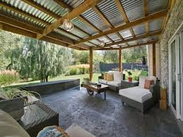 corrugated metal patios metal awnings for patios