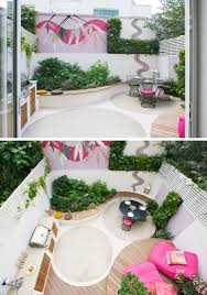 creative idea small patio space backyard landscaping ideas this small patio space is ready for a party