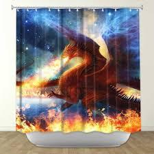 Artistic shower curtains Art Deco Dragon Shower Curtain Interesting Ideas Shower Curtain Artistic Shower Curtain Artistic Lysienie Dragon Shower Curtain Interesting Ideas Shower Curtain Artistic
