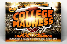 March Madness Flyer Flyer Templates For Your March Madness Party
