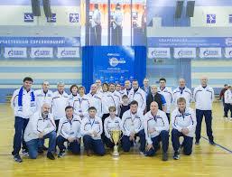 Команда ООО Газпром добыча Уренгой серебряный призер Спартакиады