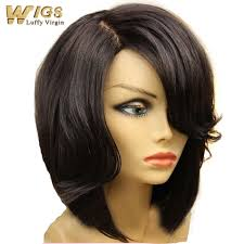 Black Woman Hair Style new bob cut style human hair bob lace front wig 130 density 5246 by wearticles.com