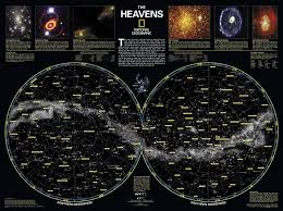Monthly Sky Chart Skymaps The Evening Sky Map Link To Monthly Sky Maps