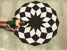 extra large round outdoor rugs
