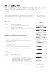 Civil Engineering Intern Resume Example Engineering Resume