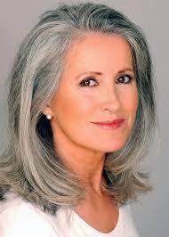Resultado de imagem para woman with gray hair