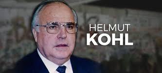 Resultado de imagem para helmut kohl