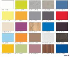 Color Charts Glass Laminate