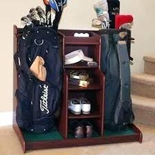 Golf Ball Coat Rack Best Golf Club Rack Walnut Stained Ultra Heads By Golf Club Coat Rack