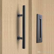 2019 304 stainless steel sliding barn door pull handle wood door handle black door handles for interior doors from qqq541278 48 7 dhgate com