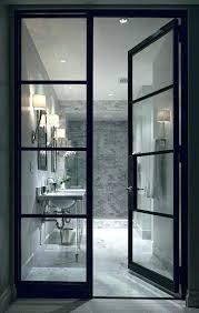 wonderful black framed shower doors steel framed shower doors black framed shower doors metal frame doors