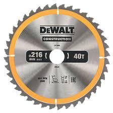 dewalt saw blade. dewalt general purpose tct circular saw blade 216 x 30mm 40t | blades screwfix.com dewalt 3