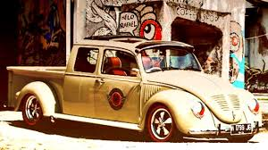 Volkswagen VW Beetle Bug Pick Up Crew Cab Build Yumos Garage ...
