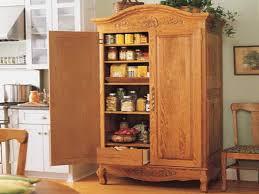 free standing wood cabinets. Beautiful Wood Classic Kitchen Furniture With White Wooden Dish Rack And Carved Free  Standing Food Pantry Cabinet To Wood Cabinets R