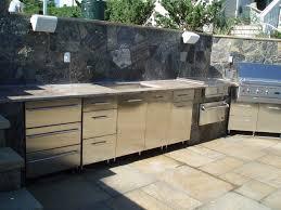 outdoor kitchen stainless steel cabinet doors beautiful home depot outdoor kitchens trendyexaminer