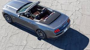 ford mustang top view. ford mustang gt 2015 convertible above view top