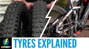 E Mountain Bike Tyres Tread And Size Guide
