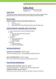 High School Resume Templates Free 7ecaf9ef 5ffb 48c3 Ba81 Faf4c54
