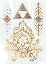 Naillook переводные татуировки для тела 72 см х 102 см 20868 цвет серебристый