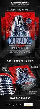 Karaoke Night Flyer Template 24 Best Karaoke Templates Images On Pinterest Flyer Template 14