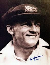 Image result for don bradman signed photo