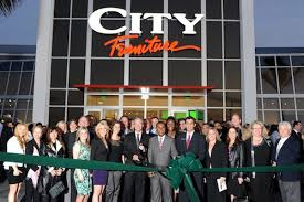 the grand opening of city furniture in boca raton via facebook