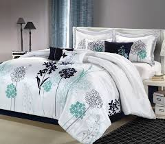 image of awesome aqua bedding sets