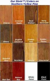 Walnut Wood Stain Color Chart Provincial Or Dark Walnut Wood Stain Colors Pine Stain