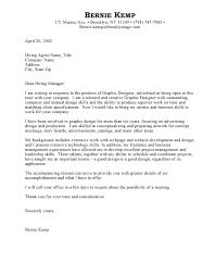 Best Graphic Designer Cover Letter Examples   LiveCareer