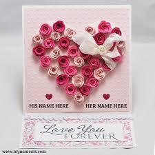 name write on romantic love letter pics