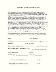 Product Rental Agreement Template equipment rental agreement form Ninjaturtletechrepairsco 1