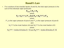 total pressure equation chemistry. 4 raoult\u0027s total pressure equation chemistry