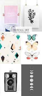 Printable Room Decor Best 25 Printable Wall Art Ideas On Pinterest Diy Framed Wall