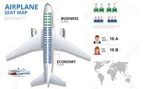 Chart Airplane Seat Plan Of Aircraft Passenger Aircraft Seats