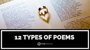 Characteristics Of Poetry Anchor Chart 12 Types Of Poems How To Recognize Them And Write Your Own