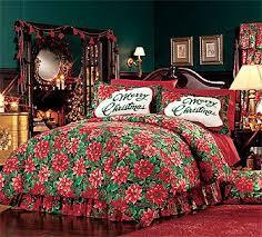 124 best Christmas Bedding & Bath images on Pinterest | Beautiful ... & Poinsettias Comforter Set - Christmas Bedding Decor - Twin Bed Adamdwight.com