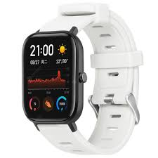 <b>TAMISTER</b> Strap for Amazfit GTS 20mm White Smart Watch ...