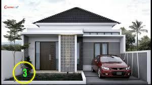 model desain rumah minimalis modern sederhana 1 lantai nomer