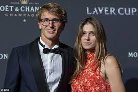 On 11.03 we were blessed with the arrival of mayla, she wrote. Zverev S Ex Girlfriend Hits Back At His Claims That Her Domestic Abuse Allegations Are Unfounded Daily Mail Online