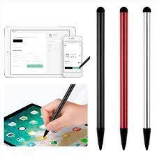 3 adet kapasitif evrensel telefon Tablet dokunmatik ekran kalem Stylus  Android iPhone iPad için Samsung cep telefonu için PC elektronik Tablet  Touch Pens