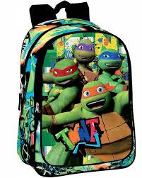 teenage mutant ninja turtles rugzak 43 cm groen