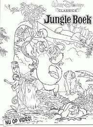 Kleurplaat Jungle Tropicalweather