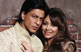 SRK Gauri Main cover Shah Rukh Khan is extremely proud of his wife Gauri Khan, who is all set to start a new chapter in her life and its called The Design ... - SRK-Gauri-Main-cover