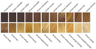 there are many shades of brown