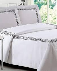 white loft 21 greek key comforter set